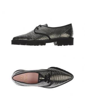 Обувь на шнурках PRETTY LOAFERS. Цвет: свинцово-серый