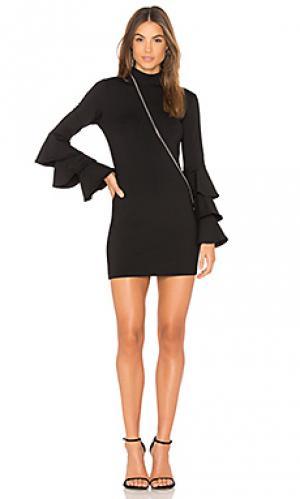 Платье yolanda 16 Susana Monaco. Цвет: черный