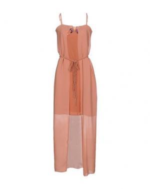 Платье до колена KORALLINE. Цвет: телесный