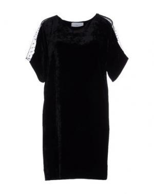Короткое платье APRIL 77. Цвет: черный