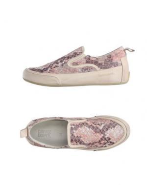 Низкие кеды и кроссовки CANDICE COOPER. Цвет: розовый