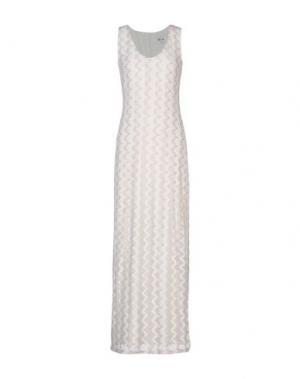 Длинное платье DRY LAKE.. Цвет: бежевый