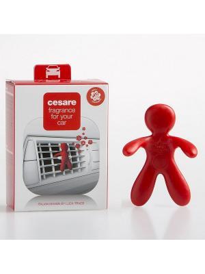 Ароматизатор для автомобиля/CESARE/красный/PEPPERMINT Mr&Mrs Fragrance. Цвет: красный
