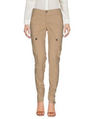 Повседневные брюки FIRETRAP. Цвет: бежевый