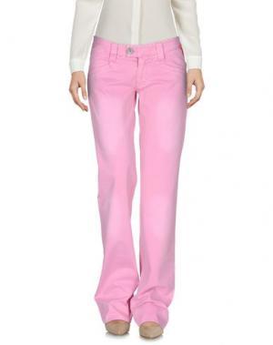 Повседневные брюки MAGILLA. Цвет: розовый