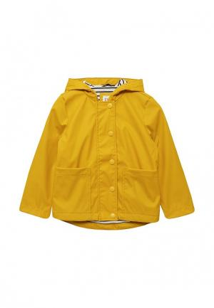 Куртка Gap. Цвет: желтый