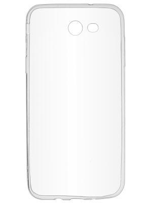 Накладка skinBOX slim silicone для Samsung Galaxy J7 (2017). Цвет: прозрачный