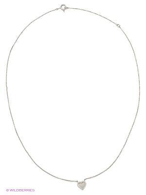 Подвеска на цепи FRESH Jewelry. Цвет: серебристый