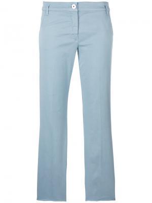 Укороченные брюки Dorothee Schumacher. Цвет: синий