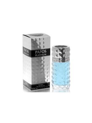 Туалетная вода Pafos Platinum 100 ml. Цвет: прозрачный