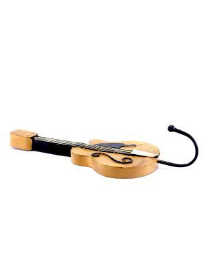 Крючок на стену Гитара essentic. Цвет: коричневый