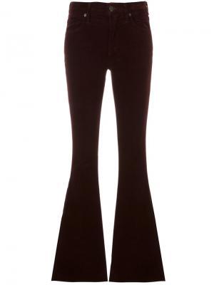 Расклешенные брюки Fleetwood Citizens Of Humanity. Цвет: розовый и фиолетовый