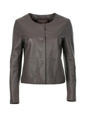 Куртка Peserico. Цвет: серый