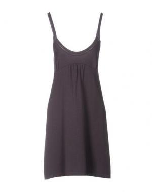Короткое платье LES. Цвет: фиолетовый