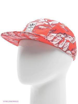Кепка 5P Cap Camo Snp Adidas. Цвет: красный