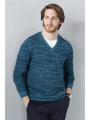 Пуловер JUNBERG. Цвет: зеленый