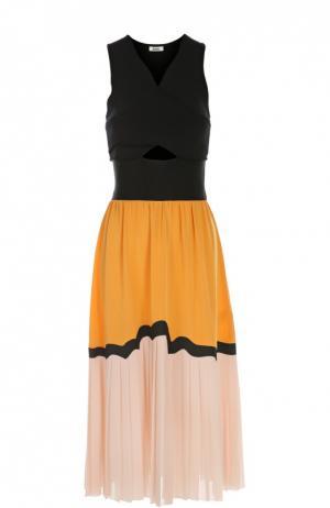 Платье Issa. Цвет: разноцветный