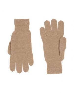 Перчатки DSQUARED2. Цвет: песочный