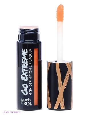 Лак для губ Go Extreme High Definition,  #4 Tangerina, 4.5 г Touch in sol. Цвет: оранжевый