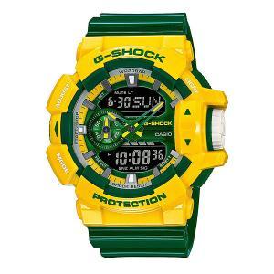 Часы  Ga-400cs-9a Yellow/Green Casio G-Shock. Цвет: желтый,зеленый