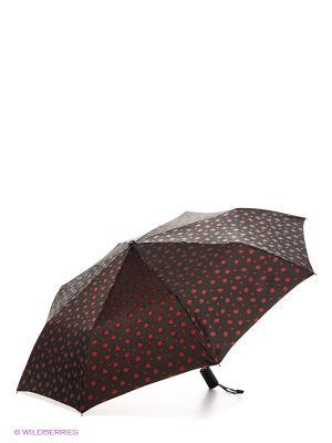 Зонт Stilla s.r.l.. Цвет: темно-коричневый, красный