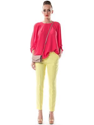 Блузка OKS by Oksana Demchenko. Цвет: розовый