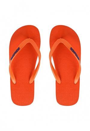 Сланцы Jack & Jones. Цвет: оранжевый