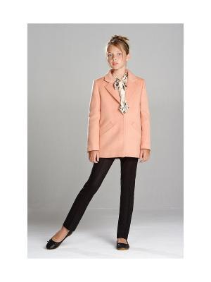 Укороченное пальто MORU. Цвет: розовый