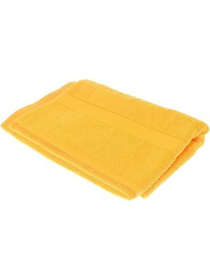 Махровое полотенце желтый 70*140-100% хлопок, УзТ-ПМ-114-08-21 Aisha. Цвет: желтый