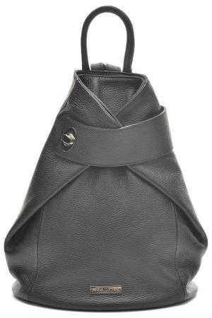 Backpack ANNA LUCHINI. Цвет: black