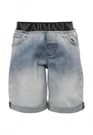 Шорты Armani Junior. Цвет: голубой