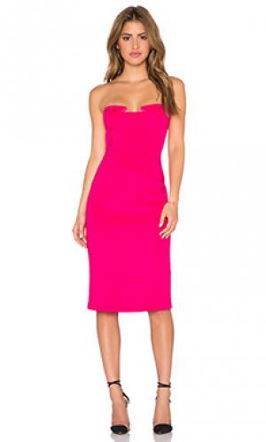 Платье night after Lumier. Цвет: розовый