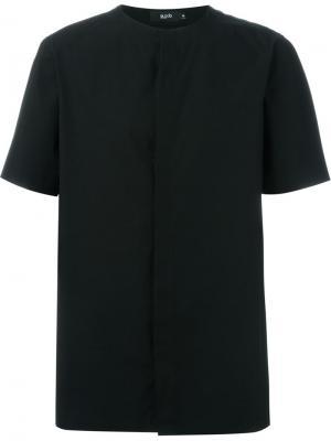 Рубашка без воротника Blood Brother. Цвет: чёрный
