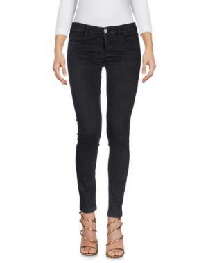Джинсовые брюки DENNY ROSE. Цвет: темно-коричневый