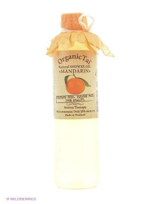 Гель для душа Мандарин Organic Tai. Цвет: оранжевый