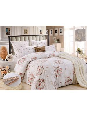 Комплект постельного белья, Паула , Семейный KAZANOV.A.. Цвет: молочный