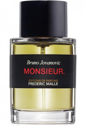 Парфюмерная вода Monsieur Frederic Malle. Цвет: бесцветный