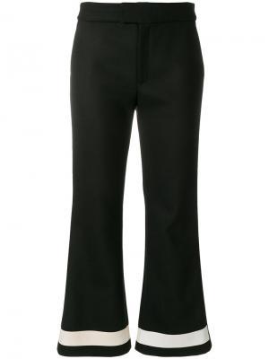 Укороченные брюки Pelly Ssheena. Цвет: чёрный