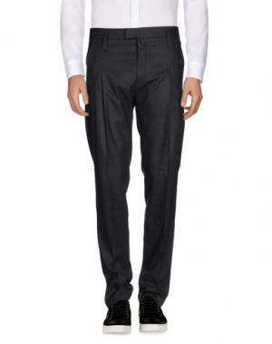 Повседневные брюки JUNK DE LUXE. Цвет: стальной серый