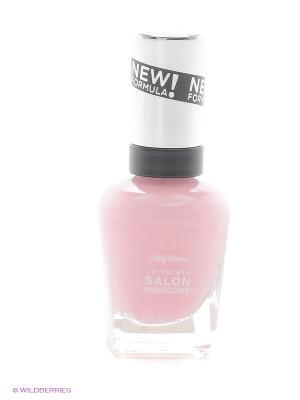 Лак для ногтей Salon Manicure Keratin, тон aflorable #523 SALLY HANSEN. Цвет: розовый