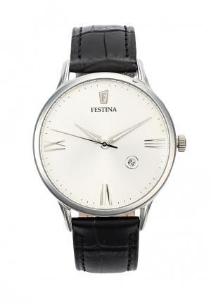 Часы Festina. Цвет: черный