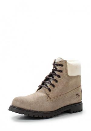 Ботинки LumberJack. Цвет: золотой