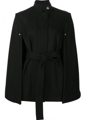 Belted cape coat Alexandre Vauthier. Цвет: чёрный