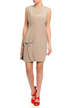Платье Les Hommes. Цвет: бежевый