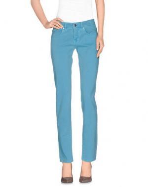 Повседневные брюки GOOD MOOD. Цвет: бирюзовый