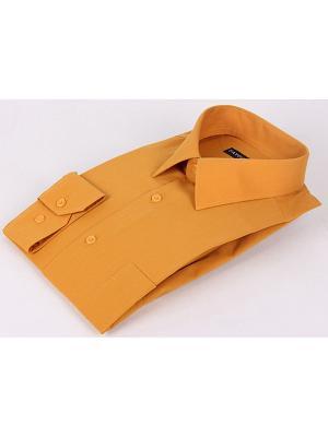 Рубашка Favourite. Цвет: оранжевый