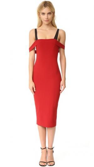 Платье Nova Cinq a Sept. Цвет: ржавый/черный
