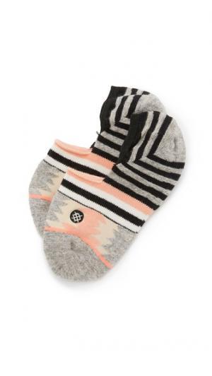 Невидимые носки Hat Trick 2 STANCE. Цвет: голубой