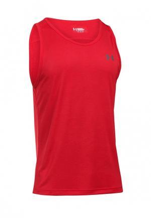 Майка спортивная Under Armour. Цвет: красный