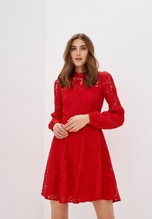Платье Warehouse. Цвет: красный